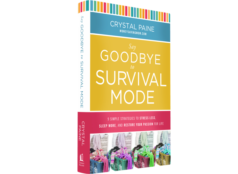 Say Goodbye to Survival Mode [& 2-BOOK GIVEAWAY!]