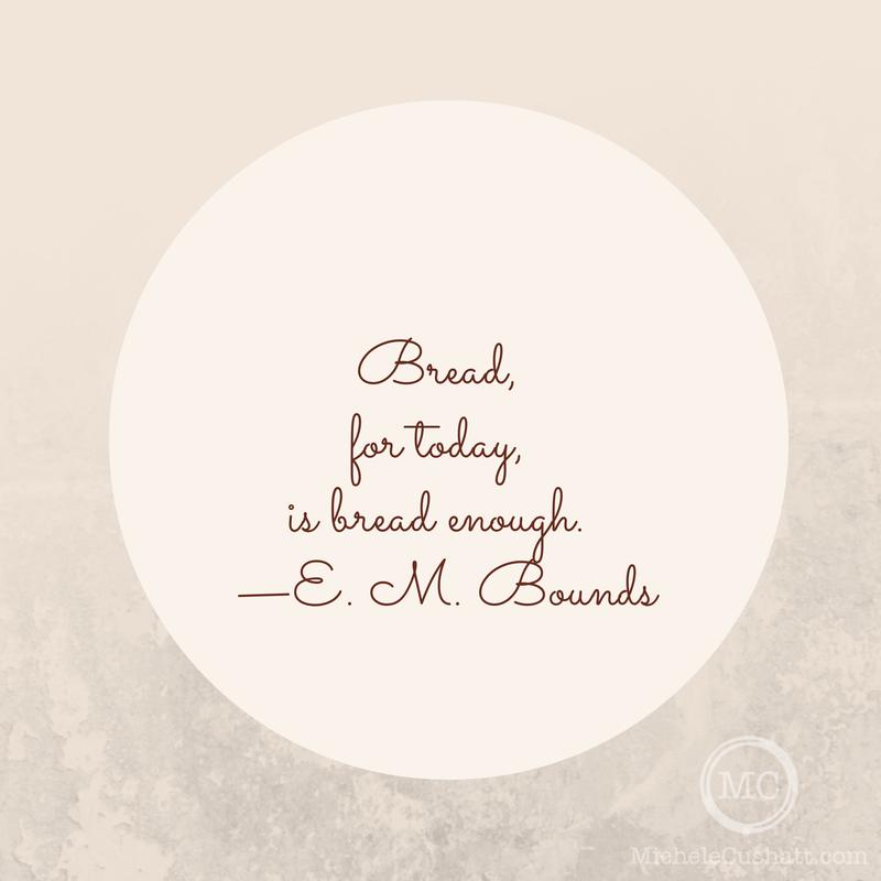 Quote: E. M. Bounds