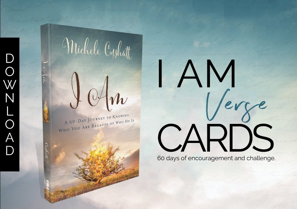 I AM Verse Cards Download button
