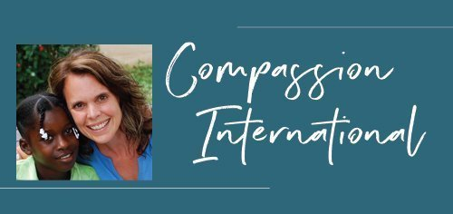 Compassion International with Michele and Compassion kid