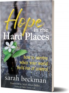 "Book ""Hope in the Hard Places,"" by Sarah Beckman"