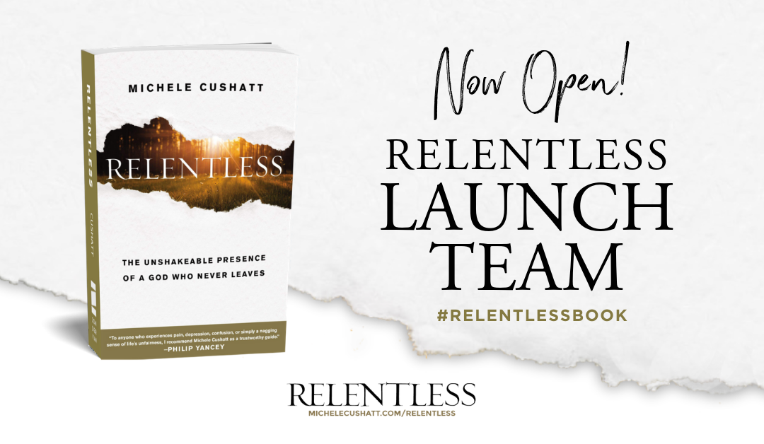 Join the Relentless Book Launch Team!