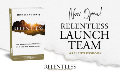 TODAY IS THE DAY! Join the Relentless Book Launch Team